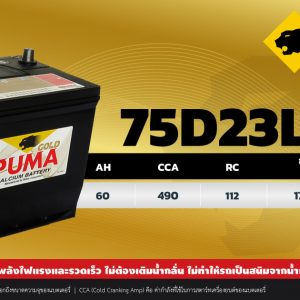 PUMA 75D23L